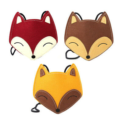 Children Girls Fox Kids Shape Crossbody Shoulder Bag Messenger Coin Purse