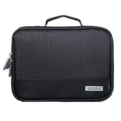 Electronic Accessories Cable USB Drive Organizer Bag Travel Insert Case Black T&