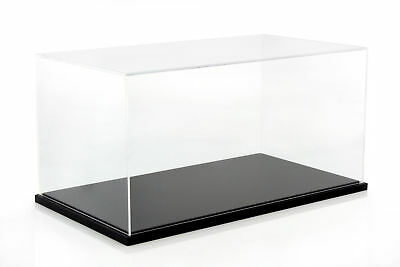 Display Cabinet for Models on a Scale of 1:10 Black gt-spirit