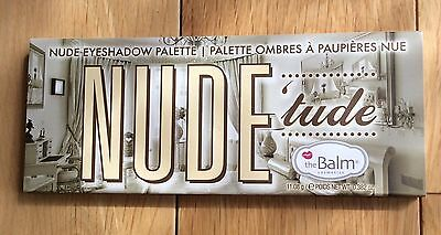 The Balm Nude 'tude Eyeshadow Palette & Brush - 12 Colour Palate 11.08g - Full S