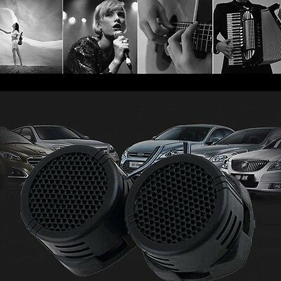 New 500W Car Speaker Audio Super Power Loud Dome Tweeter Speakers Black