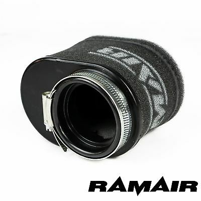 55mm ID Neck - Oval Body Motorcycle Pod Air Filter