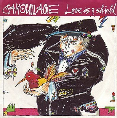"""Camouflage Love is a shield (1989)  [7"""" Single]"""
