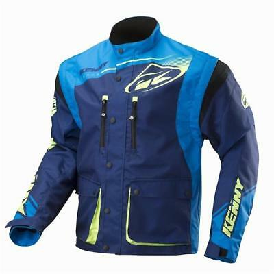 KENNY TRACK Motocross Jacke 2018 - navy cyan Motocross Enduro MX Cross