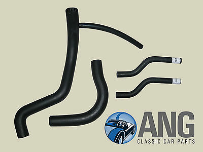 Mgb, Mgb-Gt '76-'80 Rubber Water, Cooling, Radiator Hose Kit (New)