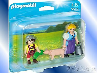 PLAYMOBIL® 5514 COUNTRY Duo Pack Bäuerin und Junge NEU/OVP