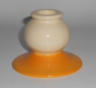 Franciscan Pottery Early Very Rare Del Oro Candlestick Holder