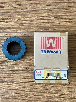 1 New -TB Woods 3JE EPDM Rubber Sleeve Insert for Sure-Flex Couplings - USA Made