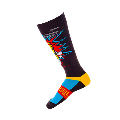 Oneal Pro MX Sock BRAAAPP multi Mountainbike MX Downhill Strümpfe