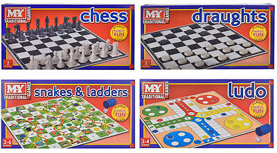 Traditional Classic Full Size Family Childrens Kids Board Games Game Boardgames