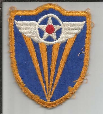WW 2 US Army 4th Air Force Patch Inv# JR795