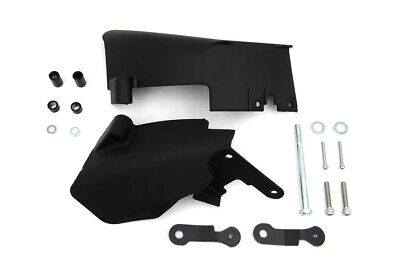 Dyna Mid Frame Air Deflector Set Black fits Harley Davidson,V-Twin 42-0147