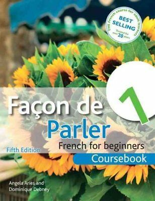 Facon de Parler 1 French for Beginners 5ED Coursebook 9781444168389