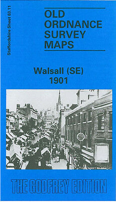 Old Ordnance Survey Map Walsall Se 1901