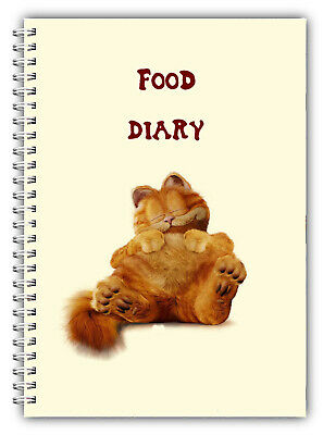 A5 You Personalise Diet Diary Slimming & Weight Loss/3 Months Food Tracking/girl