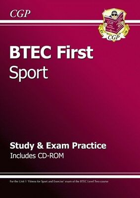 BTEC First in Sport - Study & Exam Practice with CD-ROM (Paperbac...