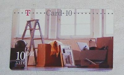 Telefonkarte T Card 10 DM 5,11 €