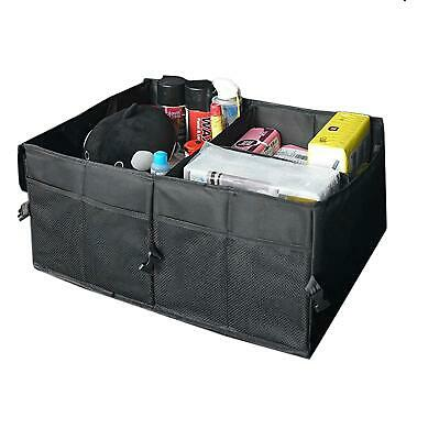 Vinsani Large Car Boot Organiser Collapsible Tidy Heavy Duty Foldable Storage