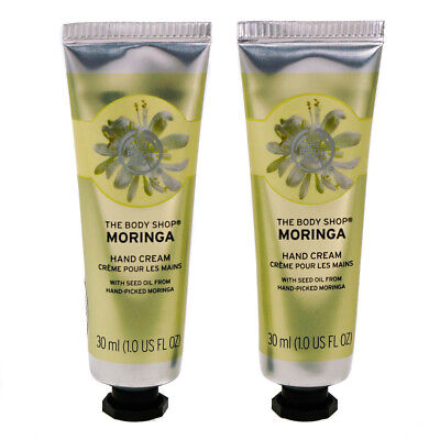 The Body Shop Moringa Hand Cream Lotion Moisturizer Intense Hydration Protection