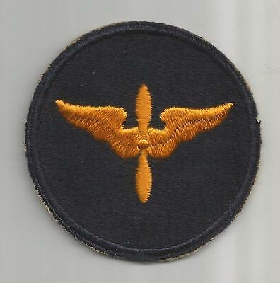 WW 2 US Army Air Forces Cadet Advanced Courses Patch Inv# 181