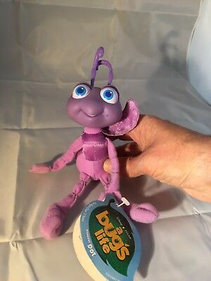 "Disney Pixar Bugs Life - Princess Dot 6"" Soft Toy With Tags"