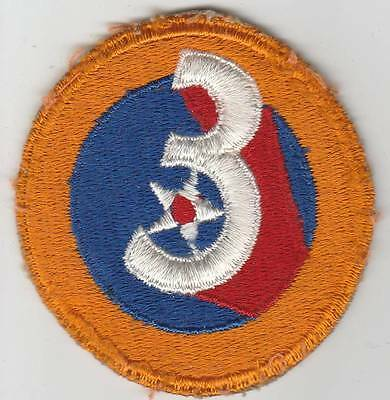 WW 2 US Army Air Forces 3rd Air Force Patch Inv# JQ134