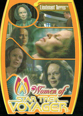 Star Trek Women Of Voyager Morfex Card M9