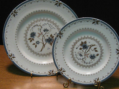 "Royal Doulton ""old Colony  Tc1005"" 4 Salad & 4 Bread Plates $88 Value Discont."