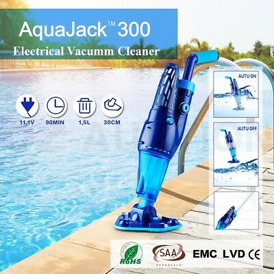 AquaJack Professional Swimming Pool Cleaner Suction Vacuum Auto Inground Robotic