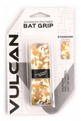*Vulcan V175-MCAM Standard Bat Grip 1.750 mm Military Camo
