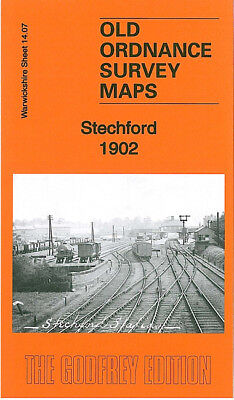Old Ordnance Survey Map Stechford 1902 Birmingham New Bridge Alum Rock Yardley