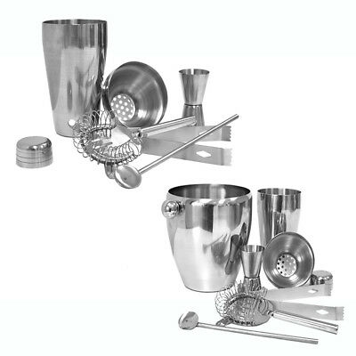 Bar Set Cocktailshaker Shaker Cocktailset Barmixer Cocktail Mixer Shakerset NEU