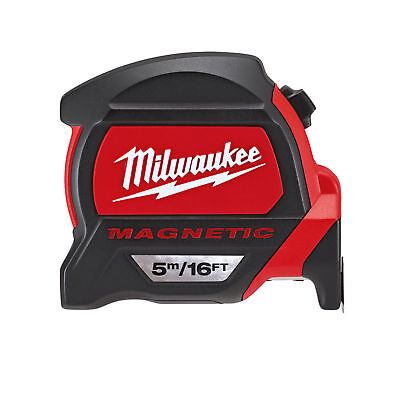 MILWAUKEE 48227216 GEN2 Magnetic Tape Measure 5m/16ft