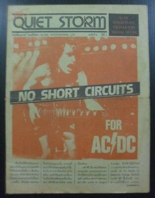 1983 Vintage! AC/DC Robert Plant Led Zeppelin The Four Tops Magazine Book RARE!!