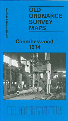 Old Ordnance Survey Map Coombeswood 1914 Cakemore Hill Long Lane Mucklow Hill