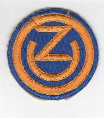 WW 2 US Army 102nd Infantry Division Patch Inv# B675