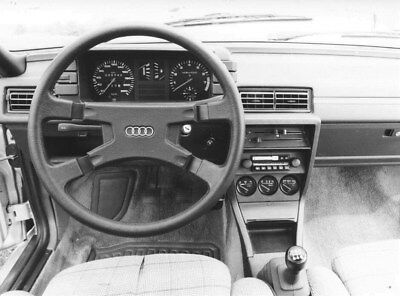 1983 Audi Coupe Steering Wheel ORIGINAL Factory Photo oub9173
