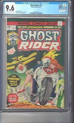 Ghost Rider #12 CGC 9.6 Off White/White Pages