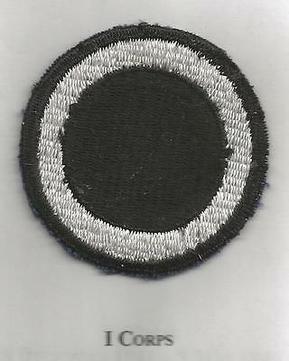 WW 2 US Army 1st Corps Patch Inv# JR333