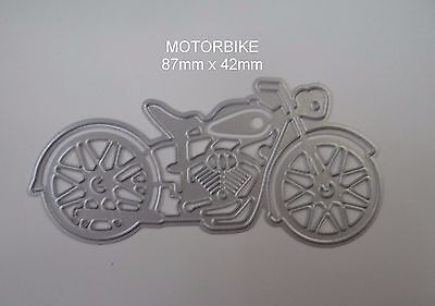 MOTORBIKE  DIE card making, scrapbooking