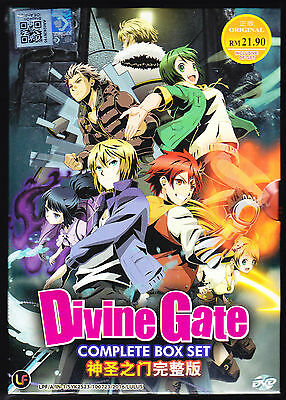 *New* Divine Gate *12 Episodes*English Subtitles*Anime*Us Seller*Free Shipping!!