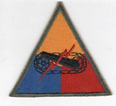 Cut Edge No Glow  US Army Armored Forces Patch Inv# B725