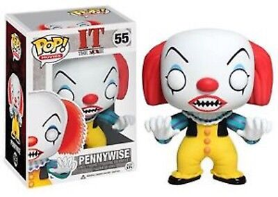 Pop! Movies Stephen King's It Pennywise Clown Vinyl Figure by Funko DAMAGED BOX