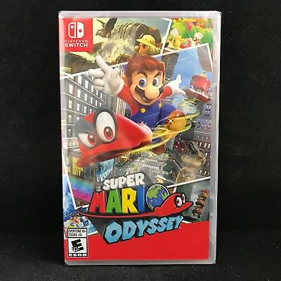 Super Mario Odyssey (Nintendo Switch, 2017) BRAND NEW / Region Free