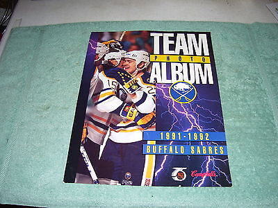 Nhl Buffalo Sabres Team Photo 1991-1992, Campbell's Soup