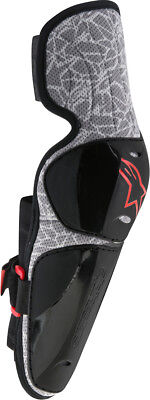 Alpinestars Vapor Pro Elbow Guard Protector (Pair) Black/Grey Mens All Sizes