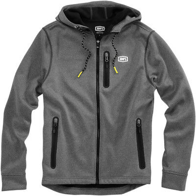 100% Adult Council Hooded Black Soft Shell Jacket Size S-XL