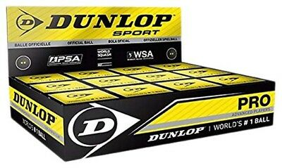 Dunlop Pro 12 Ball 12 Units Black