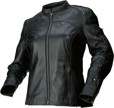 Z1R 243 Leather Jacket Black Womens All Sizes