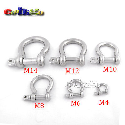 M4~M14 Stainless Steel Anchor Bow Shackle Fitting Tool